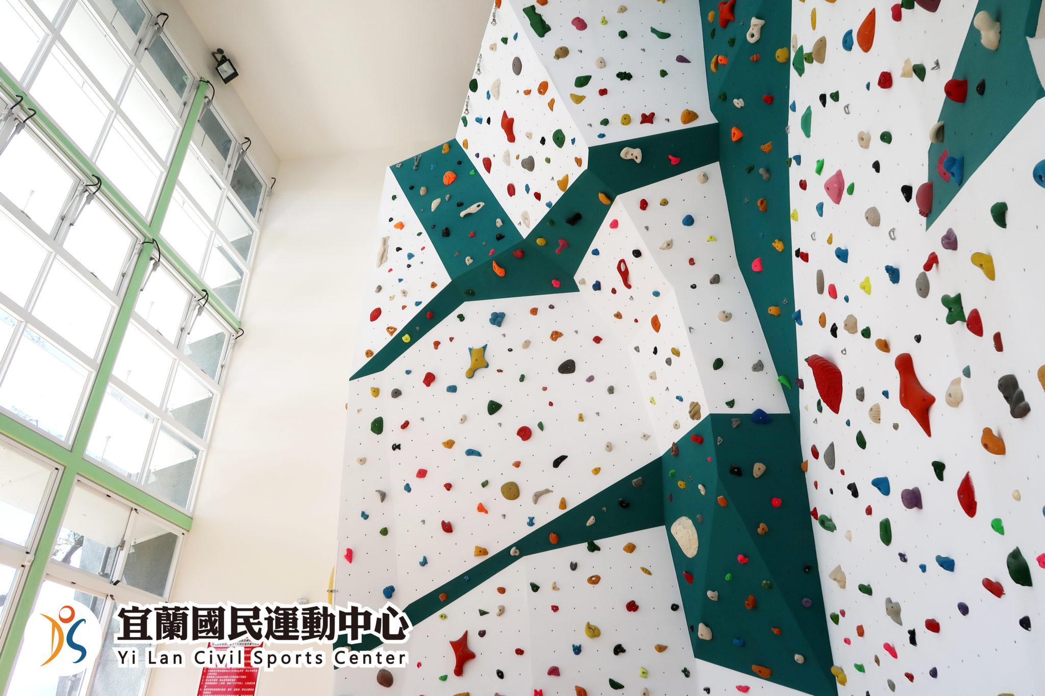 室內攀岩場挑戰高度極限(jpg)