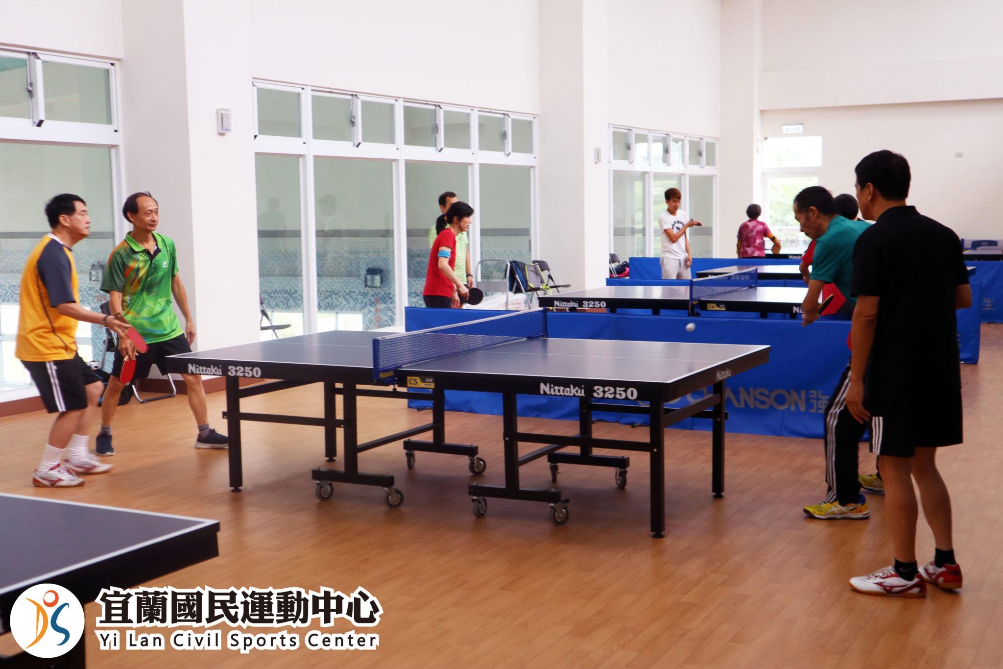 桌球教室可容納16人(jpg)