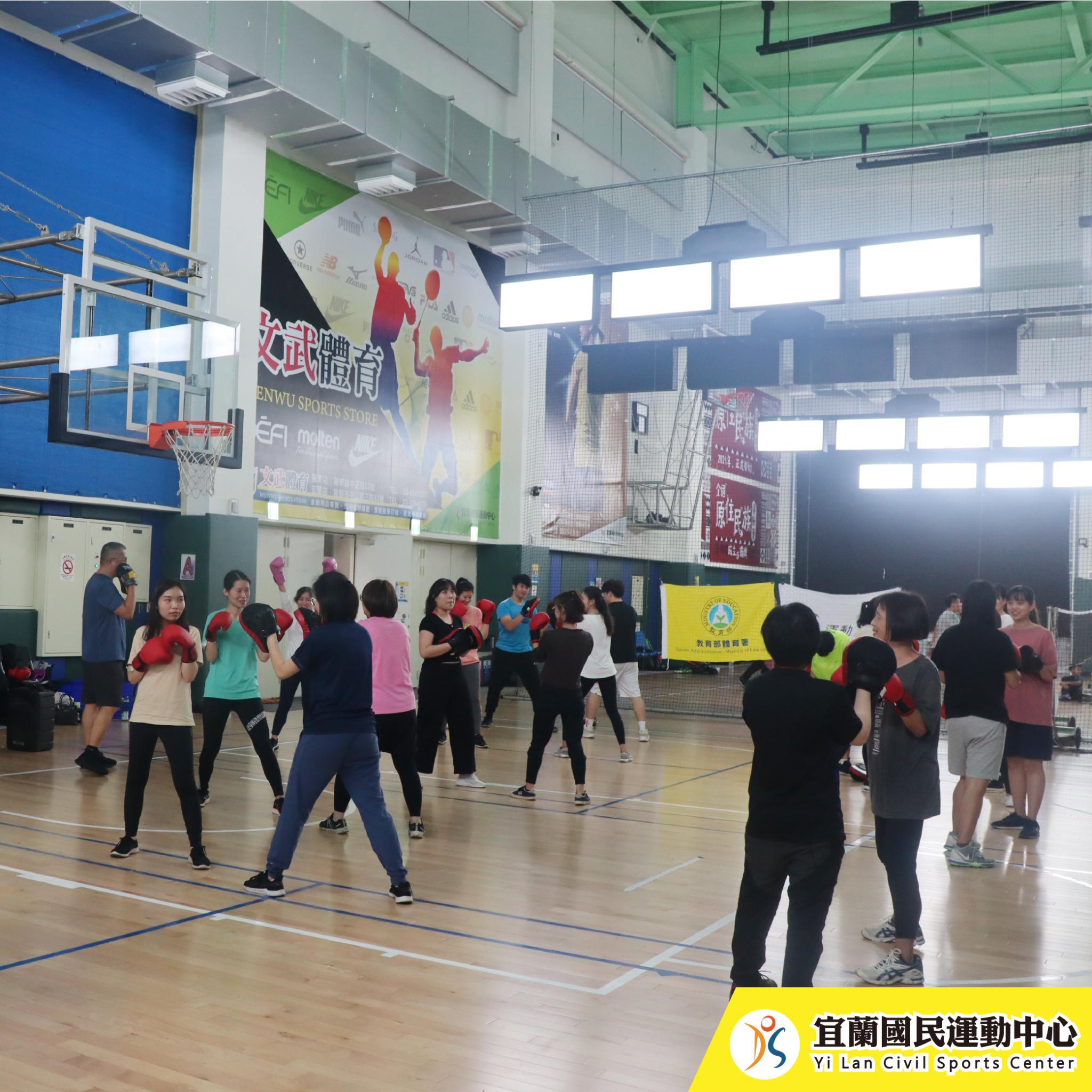 健身拳擊-上課情況(JPG)