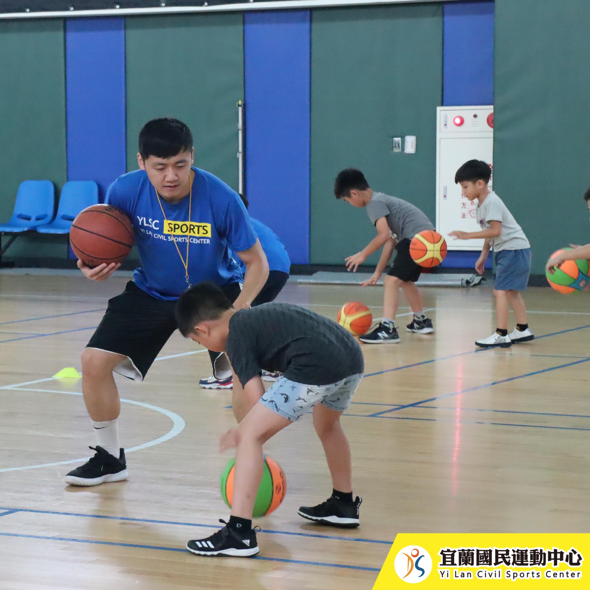 兒童籃球-上課情況(JPG)